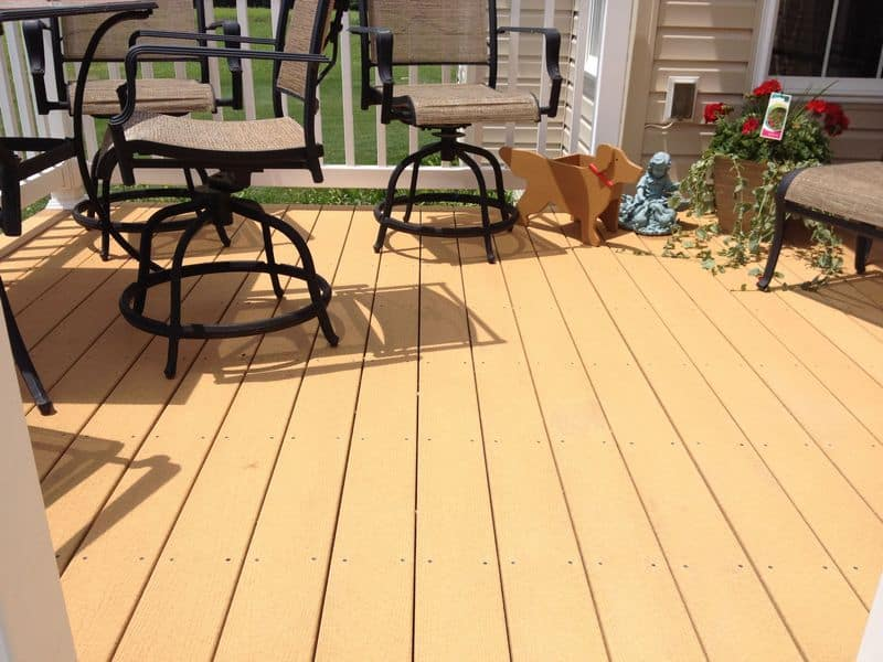 Hagerstown Composite Deck Cleaning after