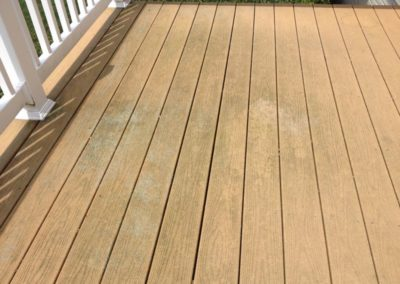 Hagerstown Composite Deck Cleaning BEFORE