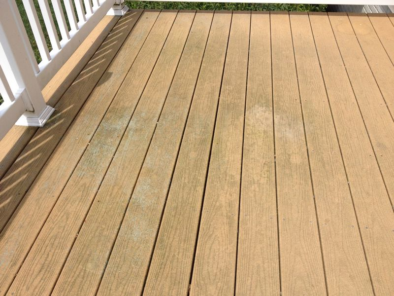 Hagerstown MD Composite Deck Cleaning