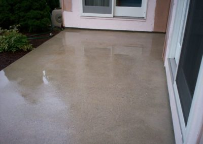 Hagerstown Concrete Patio Cleaning AFTER