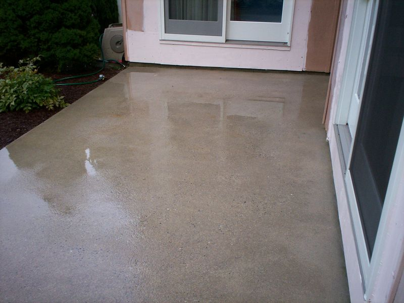 Attirant Hagerstown MD Concrete Patio Cleaning