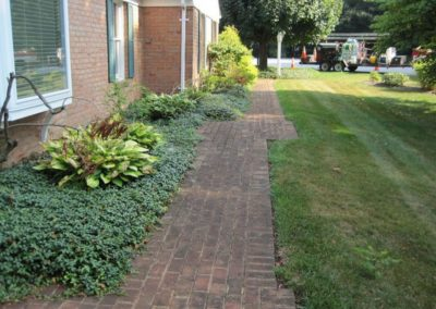 Hagerstown Brick Pavers BEFORE