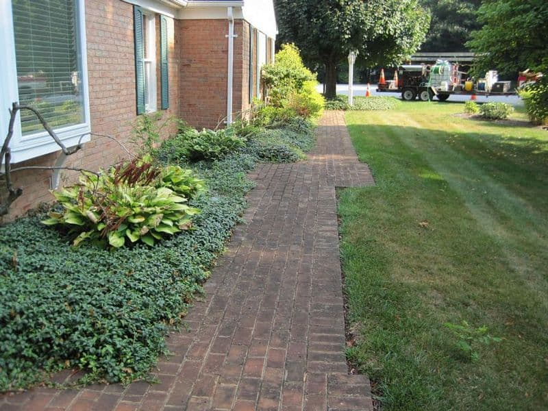 Dirty Brick Hagerstown MD Pavers need Cleaning
