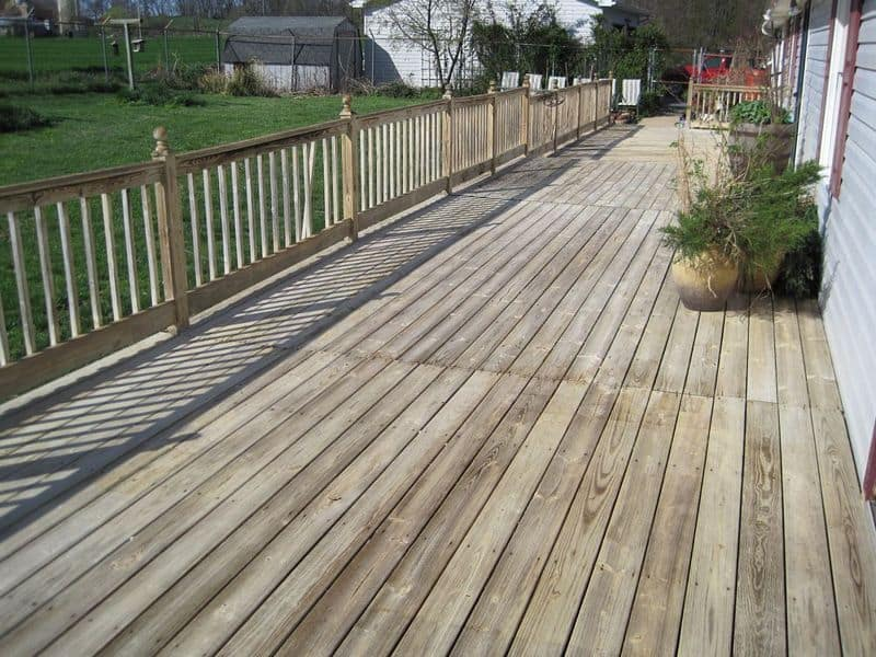 Hagerstown MD Wood Deck Cleaning
