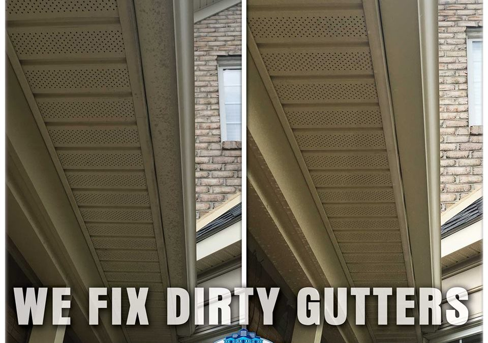 Dirty Gutters Make Rain Water Dangerous