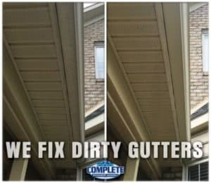 Clean Gutters by Complete Power Wash in Hagerstown, MD