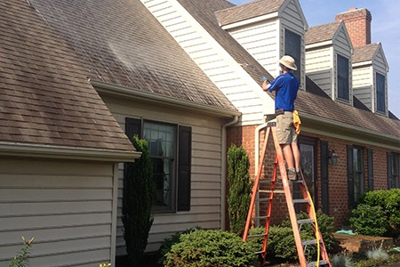 SoftWash Roof Cleaning by Complete Power Wash in Hagerstown MD