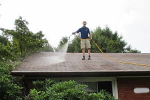 Roof cleaning by Complete Power Wash in Hagerstown MD