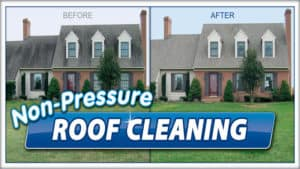 Softwash Roof cleaning by Complete Power Wash in Hagerstown, MD