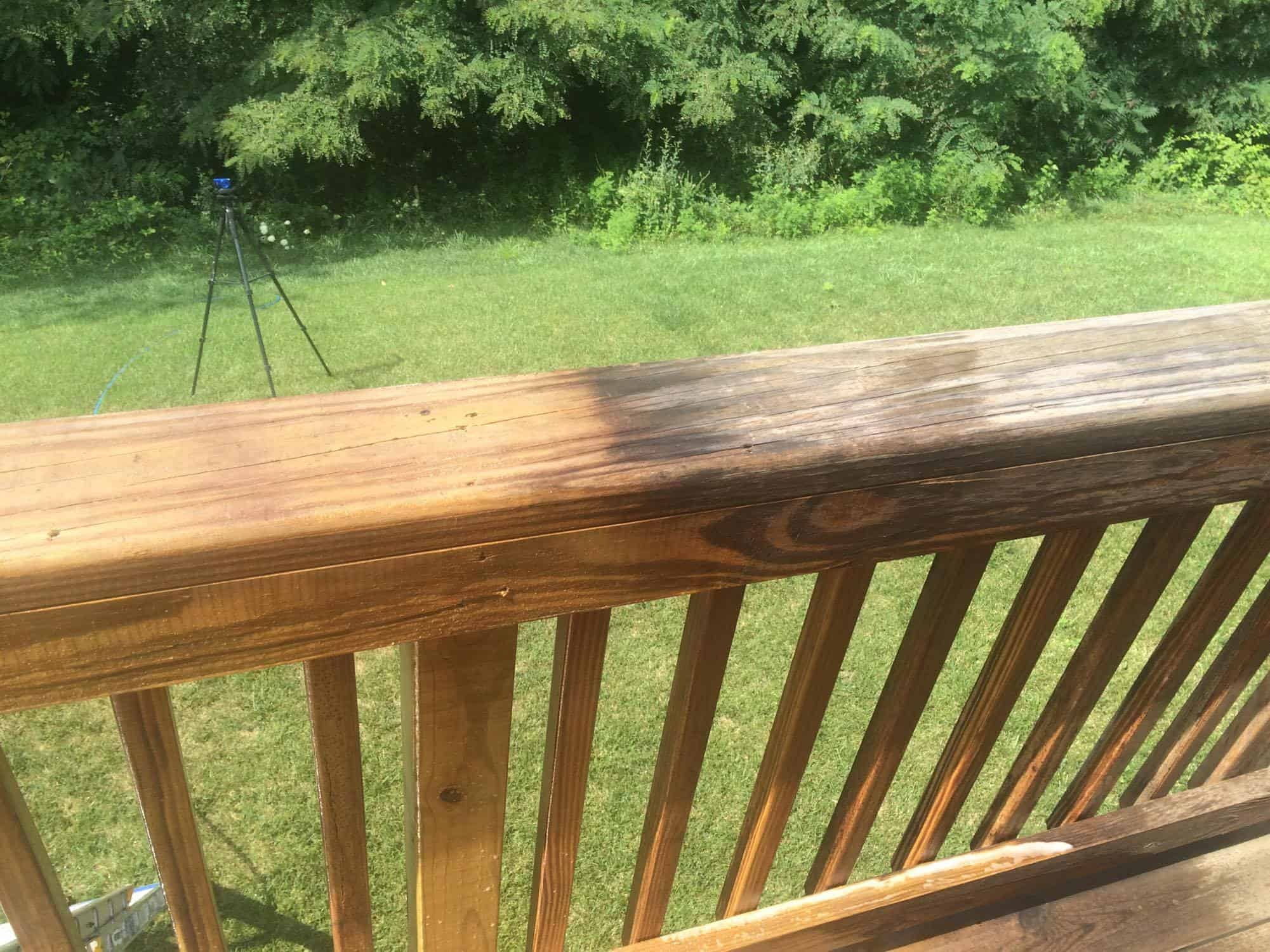 Deck cleaning by Complete Power Wash in Hagerstown, MD