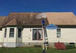 Roof cleaning by Complete Power Wash in Hagerstown, MD