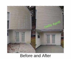 April Pressure Washing by Complete Power Wash in Hagerstown, MD