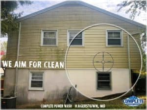 Complete Power Wash techs aim to clean. We are the pressure washing experts in Hagerstown, MD.