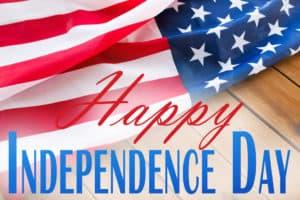 Celebrating America's birthday