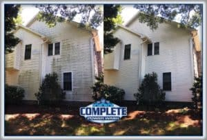 Complete Power Wash pressure washes Hagerstown, MD-area homes