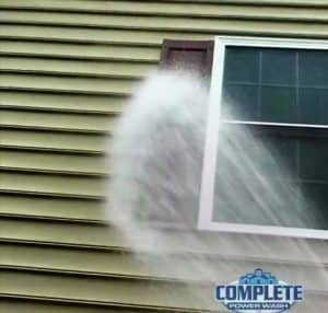 Softwash cleaning by Complete Power Wash pressure washing company in Hagerstown, MD