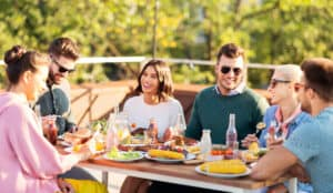 Fall parties on your deck or patio in Hagerstown, MD